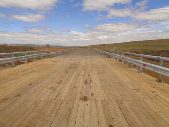 Участок трассы «Чита-Забайкальск» перекрыли в связи с ремонтом моста