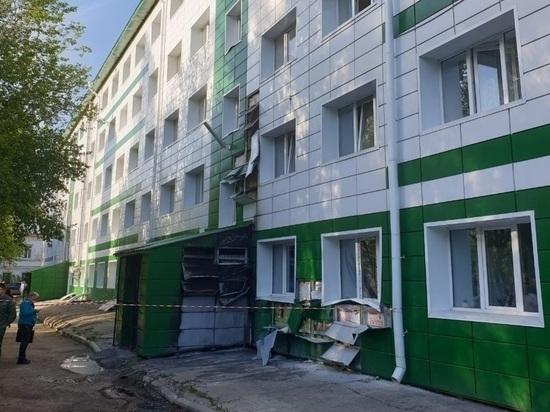 Из общежития ТПУ из-за возгорания обшивки эвакуировали более 300 студентов
