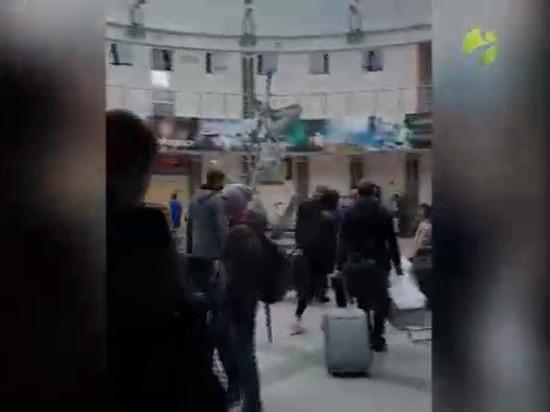 В аэропорту Салехарда произошло короткое замыкание
