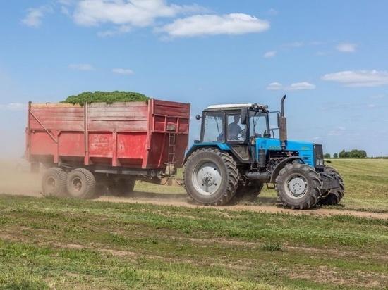 В хозяйствах Калмыкии началась заготовка кормов