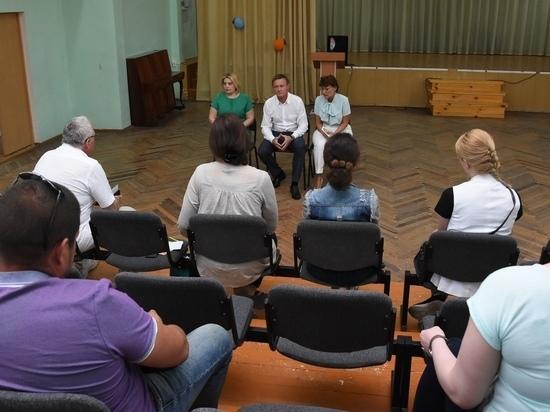 Глава региона посетил школу №51 в Курске