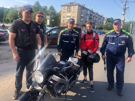 """""""Ночные волки"""" вышли поохотиться на мотоциклистов в Туле"""