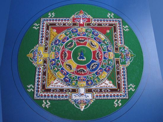 Мандалу Будды медицины построят на благо жителей Калмыкии