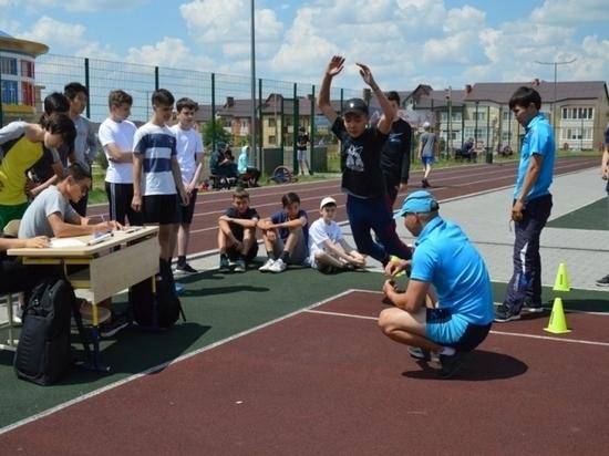 Калмыцкие школьники соревновались в силе, ловкости и скорости