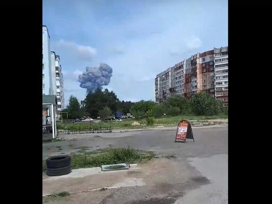Взрыв на заводе Дзержинска выбил стекла в домах в радиусе нескольких километров