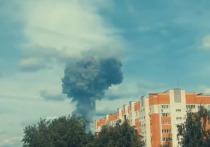 Несколько взрывов произошли на заводе «Кристалл» в Нижегородской области