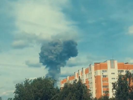 Очевидец снял на видео момент взрыва в Дзержинске: