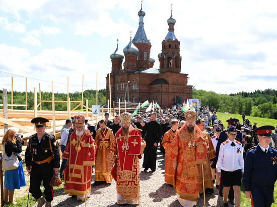 В Тверской области торжественно начался XXI Волжский Крестный ход