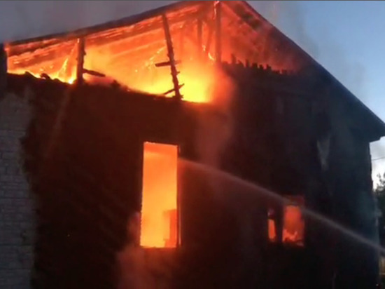 После встречи представителя технопарка с жителями сгорел его дом