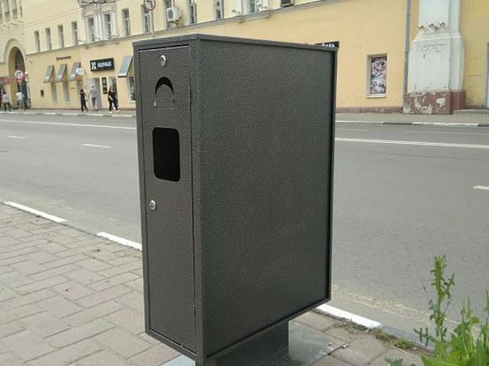 В Ярославле снова появляются урны-бинбоксы