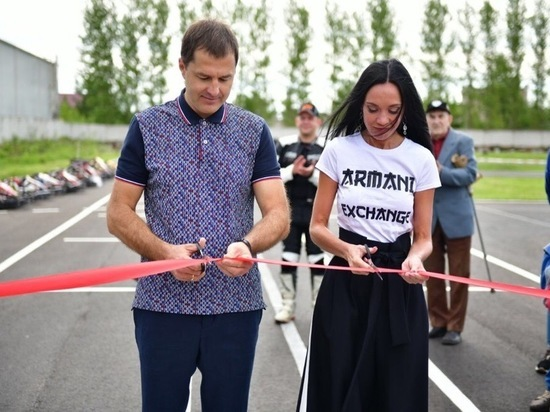 В Дзержинском районе Ярославля открыли картодром