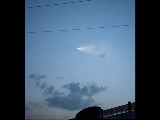 В сети появилось видео полета новейшей ядерной ракеты Китая