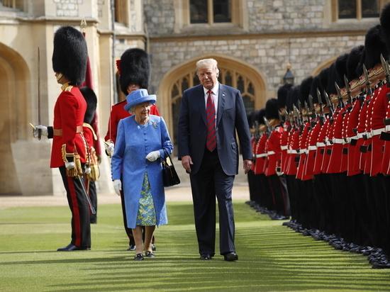 Простор для конфуза: Трамп собрался к британской королеве