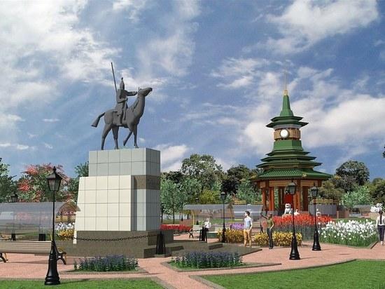 В калмыцком райцентре появится роскошный парк