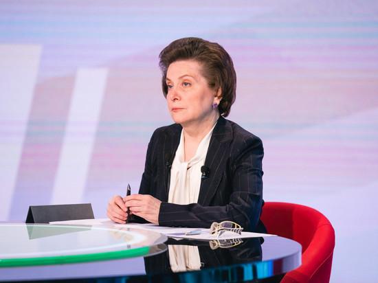 Наталья Комарова общалась с югорчанами 4,5 часа и ответила  на рекордное количество звонков