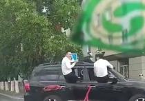 В Туве молодежь оскандалилась на свадьбе: кортеж допустил грубые нарушения ПДД