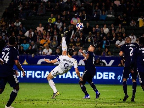 В сети появилось видео чудо-гола, который забил Златан Ибрагимович