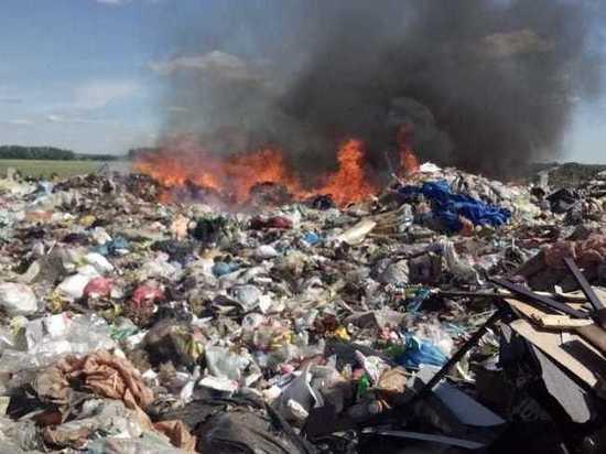 С начала года в Башкирии увеличилось число пожаров на мусорных полигонах