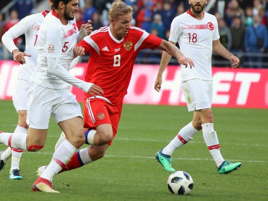 Газинский получил травму в матче сборной против