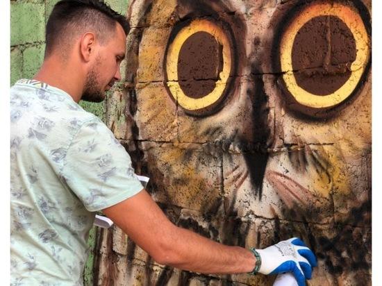 Рисунок юного серпуховича украсит Екатерининский сквер