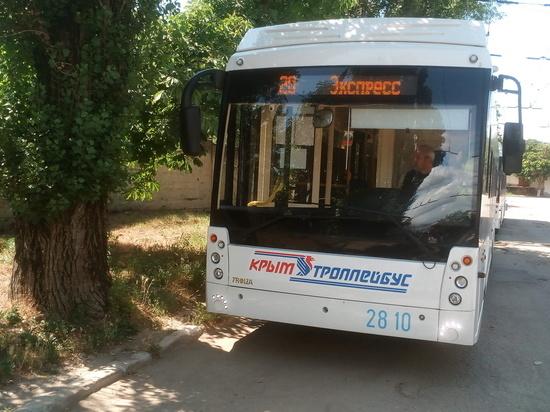 Пассажиры курортных маршрутов могут рассчитывать на крымские автобусы и троллейбусы
