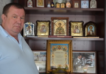 Краснодарец вернул в Россию икону Иоанна Русского и распространил по храмам