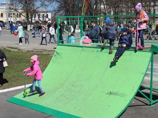 Скейт-парк в центре Вологды станет красным