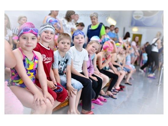 В Серпухове состоялись детские соревнования по плаванию