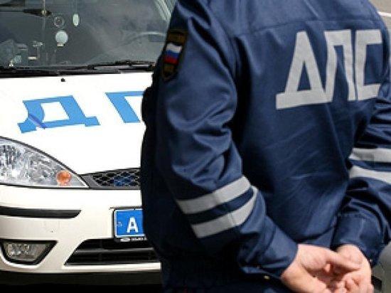 Водитель из Дагестана напал на калмыцкого инспектора ГИБДД