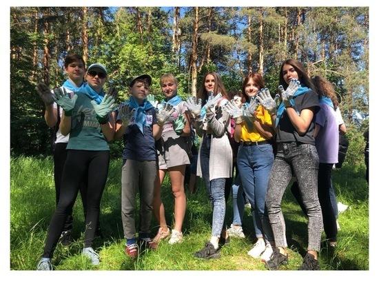 В Серпухове состоялась традиционная акция «Сохраним бор чистым»