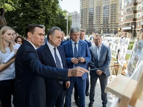 Виталий Мутко высоко оценил темпы развития Воронежа и области
