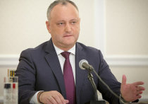 Додон отказался платить России за газ для Приднестровья