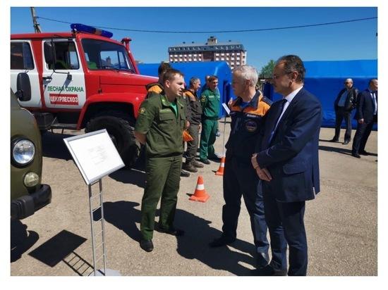 Специалисты филиала «Русский лес»  Серпухова готовы к пожароопасному сезону