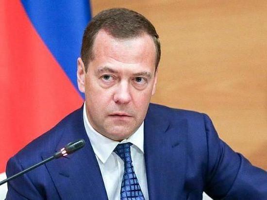 Медведев назвал условия для транзита газа через Украину