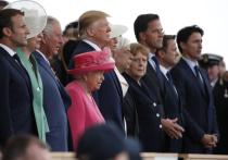 Трамп вместе с европейскими лидерами отметил годовщину высадки в Нормандии