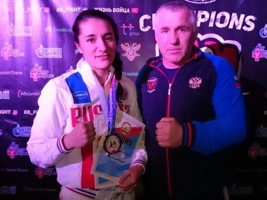 Ставропольские спорстменки выиграли чемпионат мира по рукопашному бою