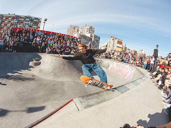 В Санкт-Петербурге прошел чемпионат России по скейтбордингу в дисциплине «парк»
