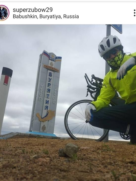 «Бурятия  - это космос»: читинец отправился на велосипеде до Севастополя