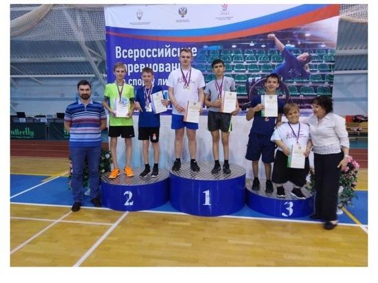 Юные серпуховичи стали призерами первенства России по бадминтону