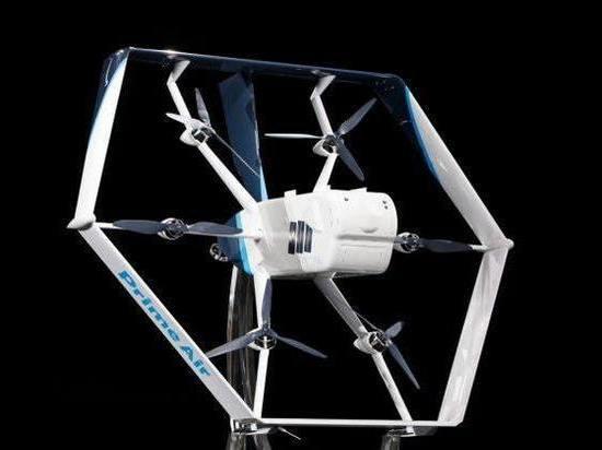 Amazon будет доставлять посылки дроном