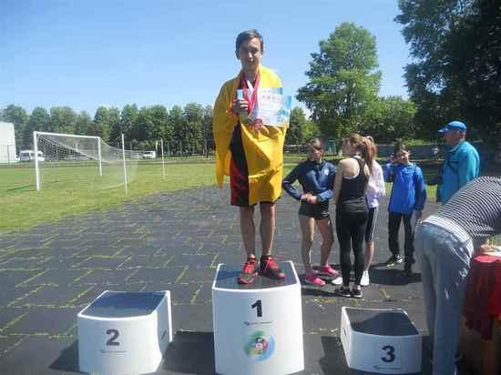 Юный воспитанник калмыцкой школы легкой атлетики побил рекорды