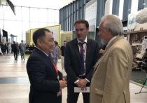 Глава Тувы на ПМЭФ-2019 дал интервью