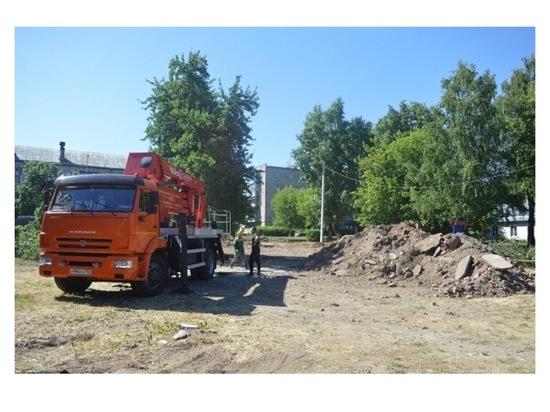 На Московском шоссе в Серпухов установят новую детскую площадку