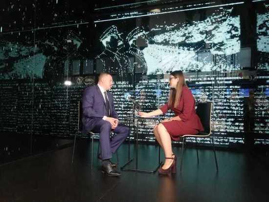 Александр Никитин на Питерском форуме дал интервью