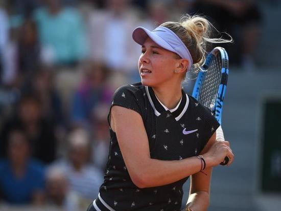 Анисимова проиграла в полуфинале