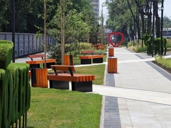 В Краснодаре открыли бульвар «Бородинский» вдоль ботсада КубГУ