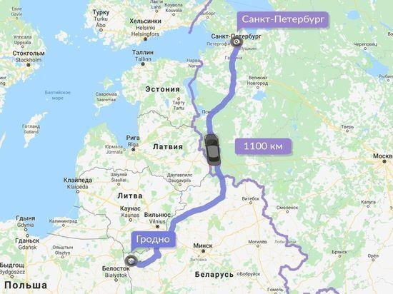 Турист из Белоруссии отдал таксисту 20 тысяч рублей за поездку в Петербург