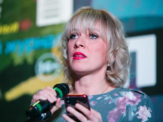 Захарова прокомментировала задержание журналиста Голунова