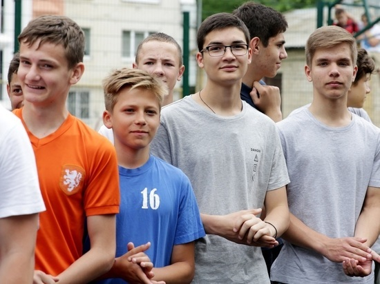 Дворовые игры стартовали в Ставрополе с началом лета