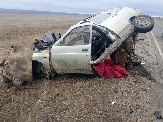 На дорогах Калмыкии гибнут люди